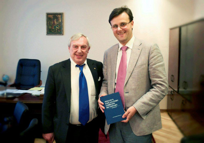 Meeting with Mr. Galasyuk, Committee Chairman, Ukraine Parliament